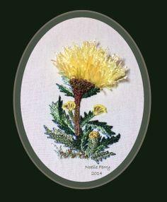 Cornflower Brazilian Embroidery