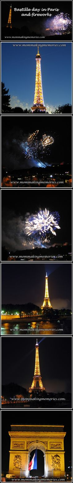 Bastille day in Paris! We woke up early to see everything that we still wanted to see before ending up at the Eiffel Tower for the fireworks. Bastille Day, How To Wake Up Early, Making Memories, Fireworks, Tower, French, Paris, Mom, Travel