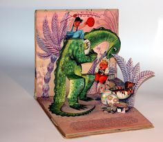 V. Kubasta. 1965. Tip Top Tap y los dragones. Colección particular.