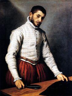Giovan Battista Moroni   Il sarto, 1567 - c. 1570