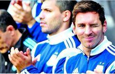 Messi Aguero Argentina World Cup 2014