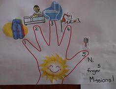 5 finger job chart