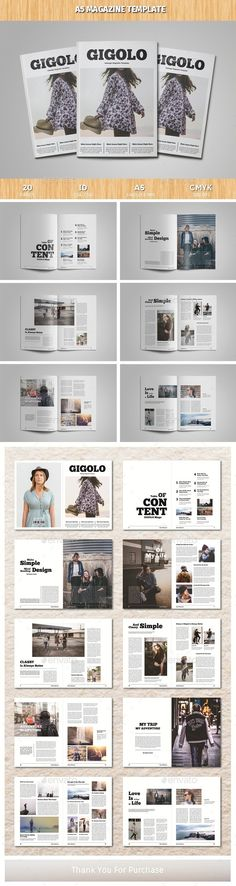 A5 Magazine Template InDesign INDD - 20 Pages A5