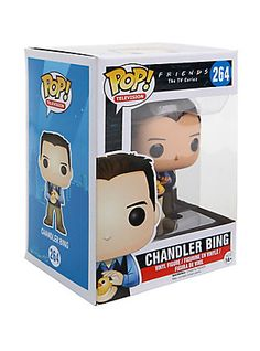 Funko Friends Pop! Television Chandler Bing Vinyl Figure,