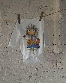 Detské oblečenie - León Arcoiris - 7198910_