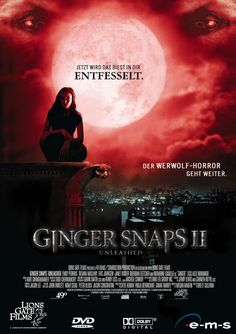 Best Movie Posters, Horror Movie Posters, Horror Movies, Jenny Lewis, Eric Johnson, Ginger Snaps Movie, Katharine Isabelle, Movie Covers, Music Books