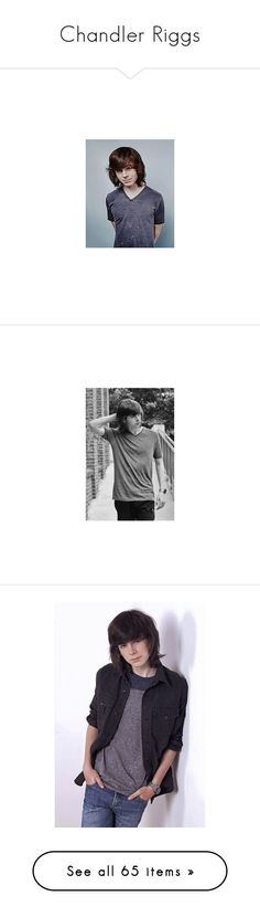 """""""Chandler Riggs"""" by melichiri ❤ liked on Polyvore featuring chandler riggs, walking dead, WithChic, Wrap, Converse, Prada, Smashbox, adidas, May28th and American Eagle Outfitters"""