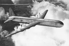 The largest piston-engine land-based transport aircraft ever built Convair XC-99 was basically a military transport, but a passenger version was also proposed (Convair Model 37, good for 204 passengers):