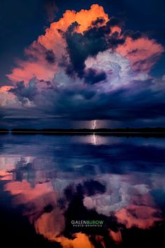 Reflecting sunset strike by Galen Burow on 500px