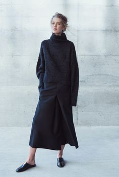 Lou Mohair Sweater | @andwhatelse