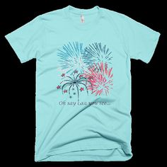 Childs 4th of July Patriotic T-Shirt by CardsArtandGifts on Etsy