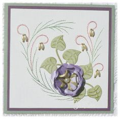 Karins Creations Card Stitching Card