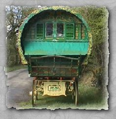 Gypsy Wagon | the romany vardo or gypsy wagon is the very epitome of a fairy tale ...