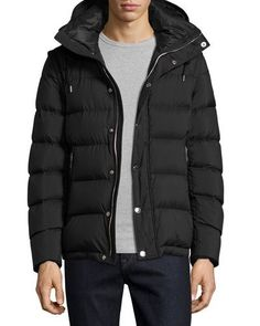 Basford 2-In-1 Puffer Jacket, Black