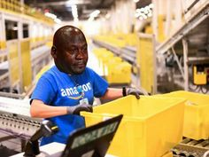 Cyber Monday at the Amazon fulfillment centre has me like... #Cryingjordanface #cryingjordan #amazon #cybermonday