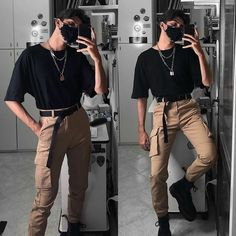 Stylish Mens Outfits, Edgy Outfits, Retro Outfits, Cool Outfits, Fashion Outfits, Moda Indie, Paar Style, Modelos Fashion, Neue Outfits
