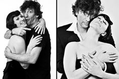 Amanda Palmer and Neil Gaiman. most perfect couple We Fall In Love, My Love, Dresden Dolls, Robin Hood Bbc, Amanda Palmer, Good People, Amazing People, Chuck Palahniuk, Neil Gaiman