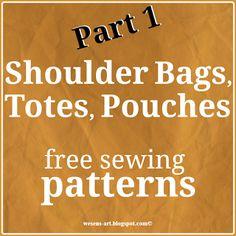 Shoulder Bags, Totes, Pouches Part 1 / Taschen 1