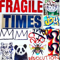 Fragile Times by Lizzie Reakes
