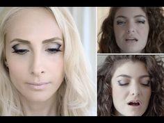 Lorde Royals Makyajı   Sebi Bebi - YouTube