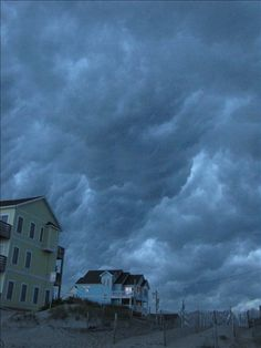 The Outer Banks, storm over Rodanthe