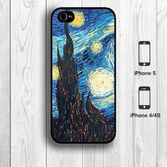 Van Gogh Starry Night iPhone 5 Case Artist Oil by aestheticase, $9.99