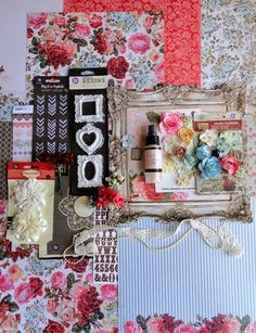 with colors: My Creative Scrapbook JULY 2014