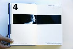 Closer Book Design [by etaymor]. Great use of white space and well considered image placement.