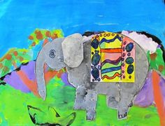 North Art Alert: Second Grade