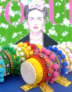 Frida Kahlo, fashion icon of the new bracelets Sissi Hand !