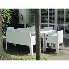 Box bank - loungeset - kunststof bank - kunststof tuinmeubelen - ligbedshop.nl
