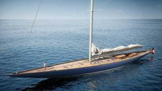 "The 42.4m ""Cheveyo"" will be based on the Ranger 77B design, which is one of the six original designs submitted by Starling Burgess and Olin Stephens to Harold Vanderbilt for the US's 1937 America's Cup defence."