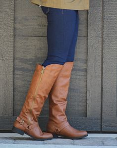 We have the perfect shoes to complete the perfect outfit. Marley Lily, Cognac Boots, Bling Shoes, Fresh Kicks, Walk This Way, Fashion Statements, Kinds Of Shoes, Autumn Inspiration, Pretty Outfits