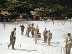 praiadabarradatijuca194 Da série de fotos a cores da Barra da Tijuca em 1940, feita pela Revista LIFE.