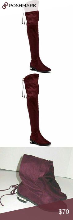 4f502b71449 Catherine Malandrino Perse Over-the-Knee Boots Catherine Malandrino PERSE  Over-the-
