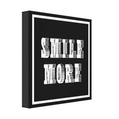 Cool Tattoo Oriental and Japanese Fine Art - Customizable Gifts and Home Decoration from Zazzle: SMILE MORE - WORRY LESS DIPTYCH MOTIVATION QUOTE WISE WORD CANVAS PRINTS