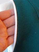 Ruby Murrays Musings: Refashion Tutorial 1. Using Piping to finish a raw sleeve edge