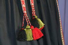 Forklebånd beltestakk Tassel Necklace, Tassels, Jewelry, Fashion, Jewlery, Moda, Jewels, La Mode, Tassel
