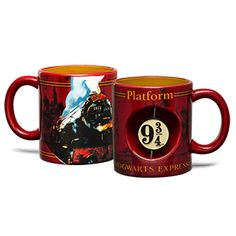 Hogwarts Express Mug - http://www.thlog.com/hogwarts-express-mug/