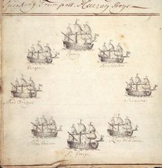 From the Untold Lives blog post 'History and Science Meet' Image: Log of the ship Rochester, 1710.