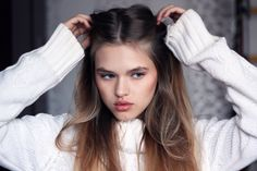 alina timofeeva  represented by Wilhelmina International Inc.