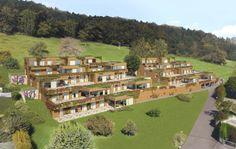 Visualisierungen Architektur: STOMEO Architektur Visualisierung - Zürich 3d Modelle, Golf Courses, Mansions, House Styles, Home Decor, Architecture Visualization, Human Settlement, Real Estates, Floor Layout