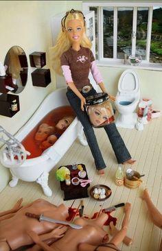 Barbie has gotten tired of your bullshit.