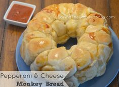 Pepperoni and Cheese Monkey Bread