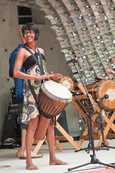 Joyous hand drum folks... rhythm enhances the universe...