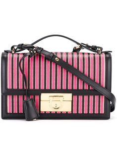 Salvatore Ferragamo striped shoulder bag