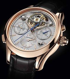 La Cote des Montres : La montre Montblanc Heritage Chronométrie ExoTourbillon Rattrapante Limited Edition 8 - Une avancée en termes de précision et de performance