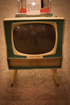 1959 17 inch Sylvania Dualette from the Vintage TV Museum
