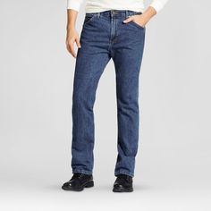 Dickies Men's Regular Straight Fit Denim 6-Pocket Jean-