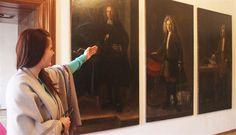 Zatímco portrétů šlechticů je v každém zámku víc než dost, v Manětíně na Plzeňsku je k vidění unikátní soubor portrétů služebnictva. Autorem třinácti obrazů, jaké nemají v Česku i ve střední Evropě obdoby, je umělec Václav Dvořák.